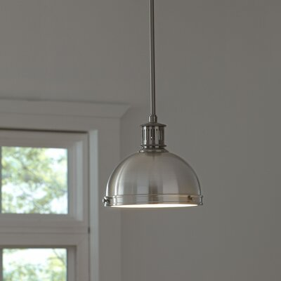 Orleans Pendant Size: 8.5 H x 9.5 W x 9.5 D, Finish: Oil-Rubbed Bronze, Bulb Type: 75W A19 Medium