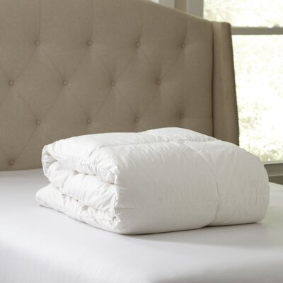 Birch Lane Essential Down Comforter Size: King
