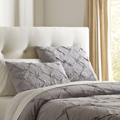 Genevieve Quilt Set Size: Full / Queen, Color: Stone