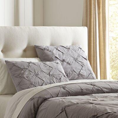 Genevieve Quilt Set Size: King, Color: Stone