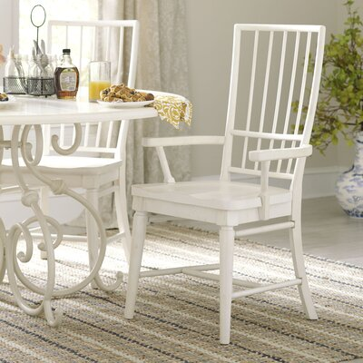 Lisbon Rake-Back Arm Chairs (Set of 2) Finish: Cherry, Arms: With Arms
