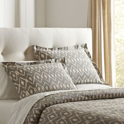 Cassandra Pewter Duvet Set Size: King