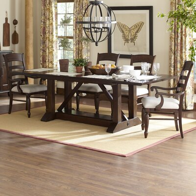 Lisbon Extendable Dining Table Finish: Cherry