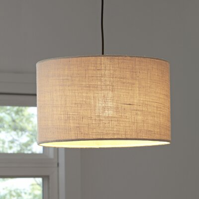 Gordon Pendant Shade Color: Cream