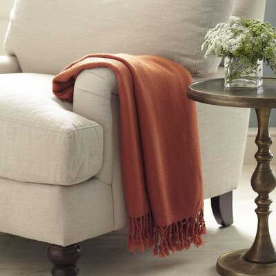 Greenhalgh Throw Color: Brick