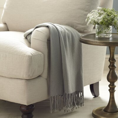 Greenhalgh Throw Color: Medium Gray