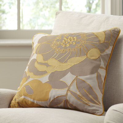 Lacie Embroidered Throw Pillow Cover