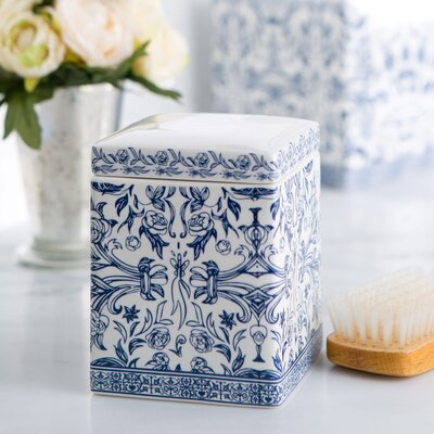 Porcelain Cotton Container