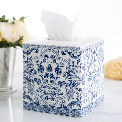 Porcelain Tissue Box Cover