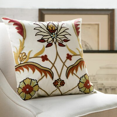 Rosemarie Embroidered Pillow Cover