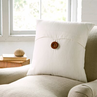 Lena Pillow Cover Color: White