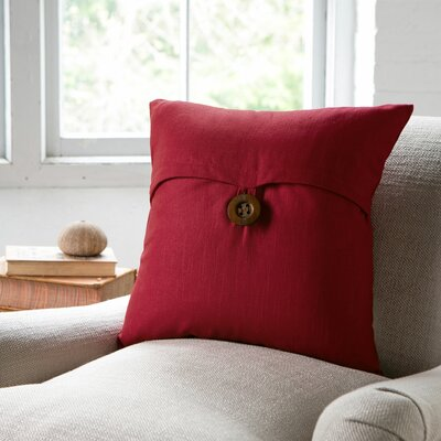 Lena Pillow Cover Color: Red