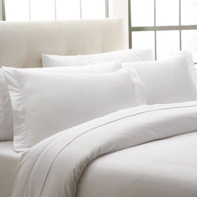 Thalia Sham Size: King, Color: White
