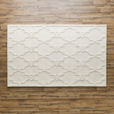 Cabbott Parchment Rug Rug Size: Rectangle 33 x 53