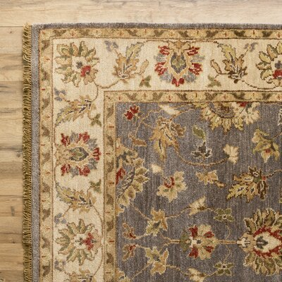 Savannah Hand-Woven Pewter Area Rug Rug Size: Rectangle 5 x 8