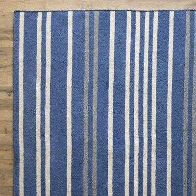 Jasper Rug in Blue & Stone