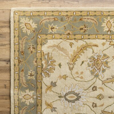 Florence Putty Rug Rug Size: 33 x 53