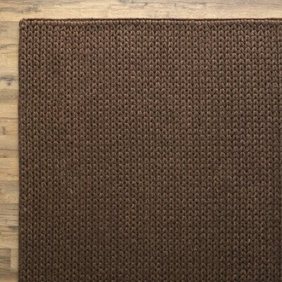 Alison Chocolate Rug Rug Size: Rectangle 5' x 8'