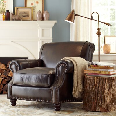 Landry Club Chair Upholstery: Steamboat Charcoal