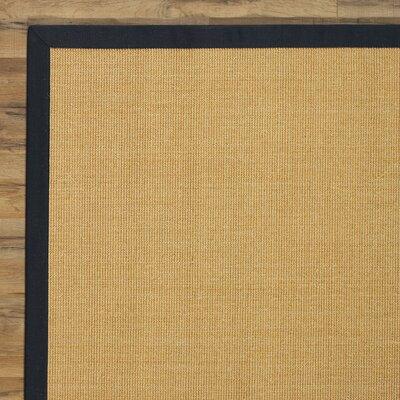 Sisley Hand-Woven Brown Area Rug Rug Size: 4 x 6