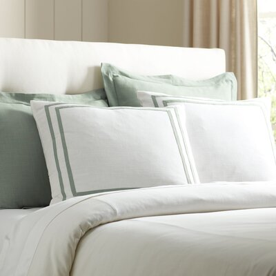 Lola Bedding Euro Sham Color: Pool