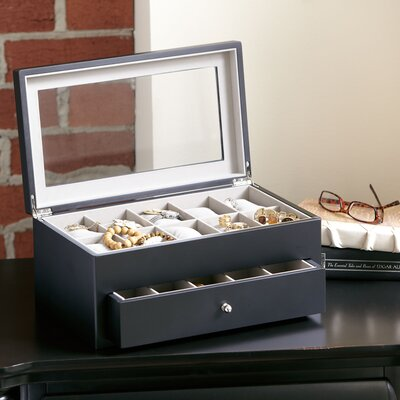 Travers Watch Box Finish: Matte Black
