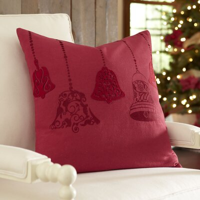 Norah Cotton Pillow Cover, Red