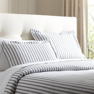 Saige Duvet Set Size: Queen, Color: Stone