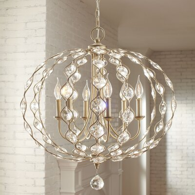 Madsen Candle-Style Chandelier Size: 6-Light