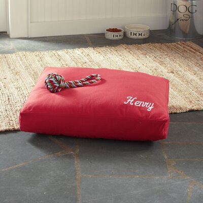 Atwood Pet Bed, Red Size: Large