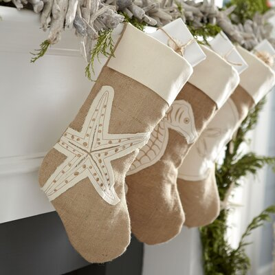 Starfish Coastal Jute Stocking
