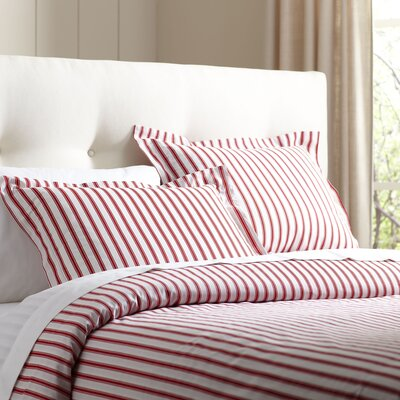 Saige Duvet Set Size: Queen, Color: Red