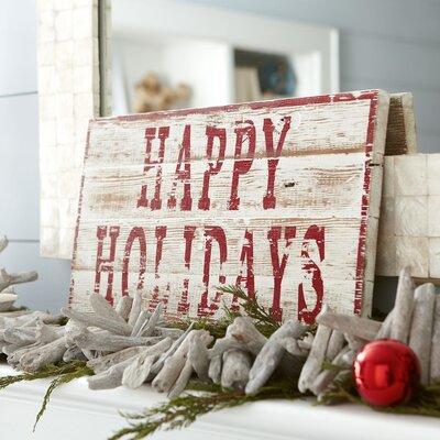 Happy Holidays Decor