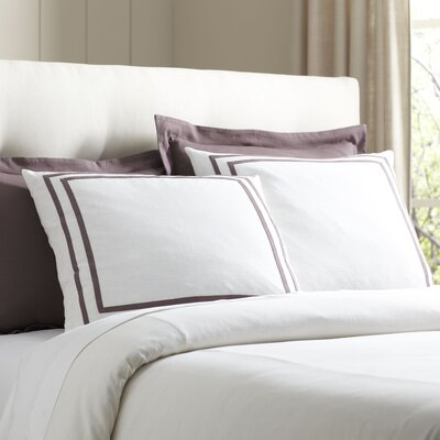 Lola Bedding Euro Sham Color: Lavender