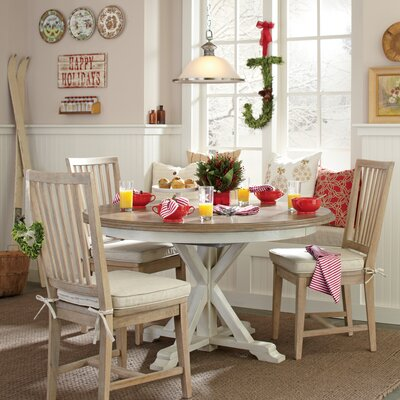 Grafton Side Chairs (Set of 2) Finish: Stone