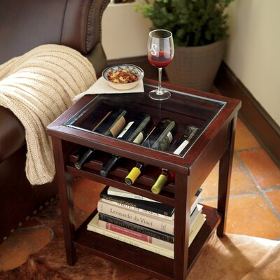 Tipton Wine Table Finish: Cherry