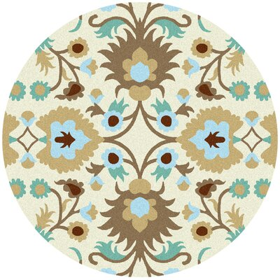 Kaya Indoor/Outdoor Rug Rug Size: Round 8'