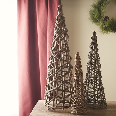 Woven Tree Decor