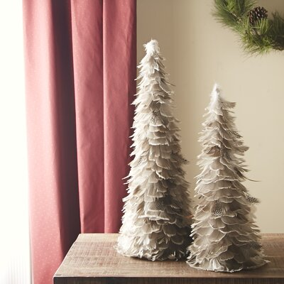 Feathered Trees Decor