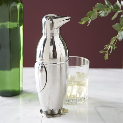 Birch Lane Penguin Cocktail Shaker