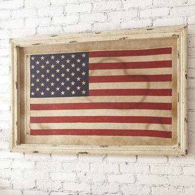 American Flag Framed Wall Art
