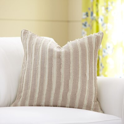 Blanche Linen Pillow Cover Size: 18 x 18, Color: Natural