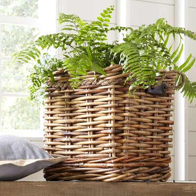 Square Handled Basket Size: Small