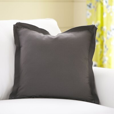 Joelle Pillow Cover Color: Pewter, Size: 20 x 20