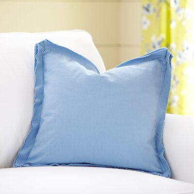 Joelle Pillow Cover Color: Pool, Size: 18 x 18