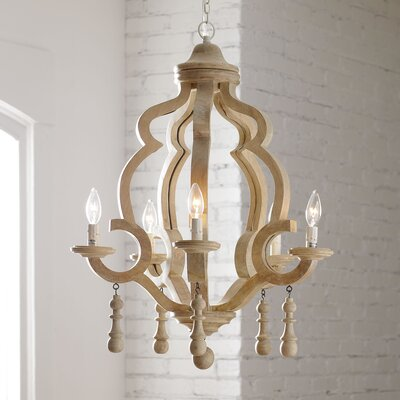 Caister 5-Light Candle-Style Chandelier