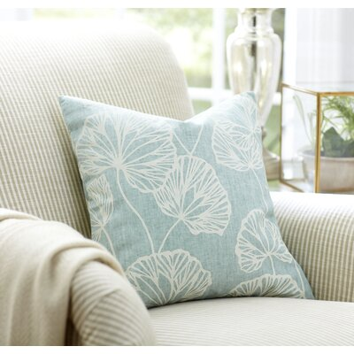Gwendolyn Accent Pillow Color: Sky