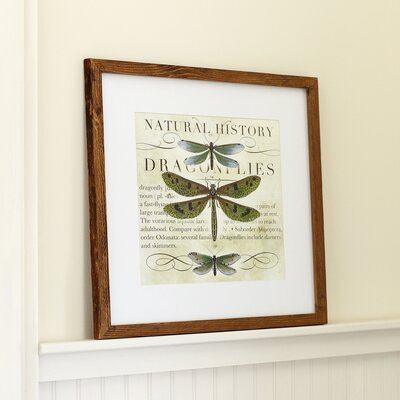 Dragonfly Framed Print I