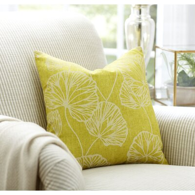 Gwendolyn Accent Pillow Color: Lime