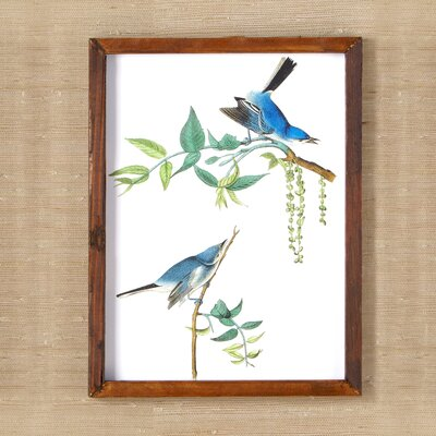 Woodland Birds Wall Art II